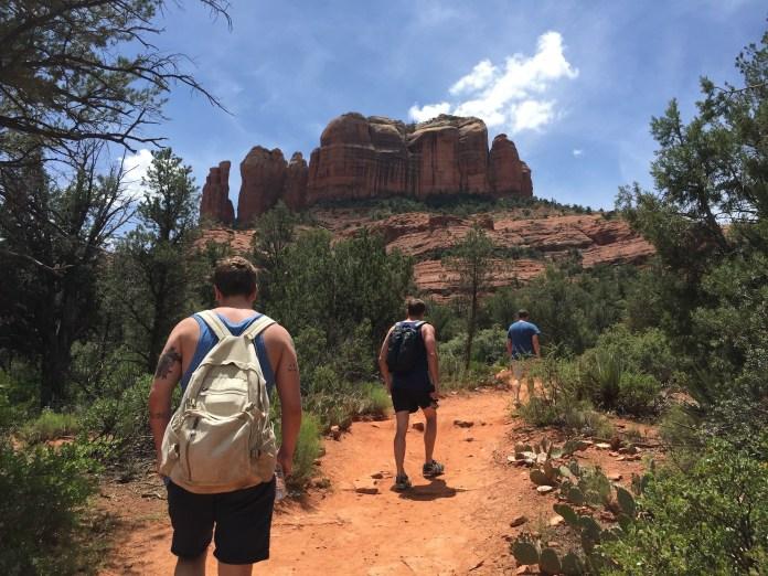 Dudes randonnée Cathedral Rock