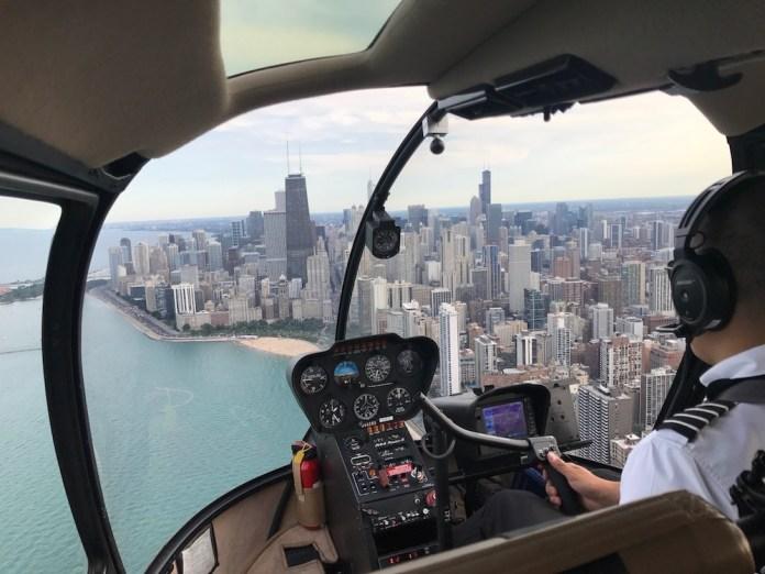 Hélicoptère de Chicago