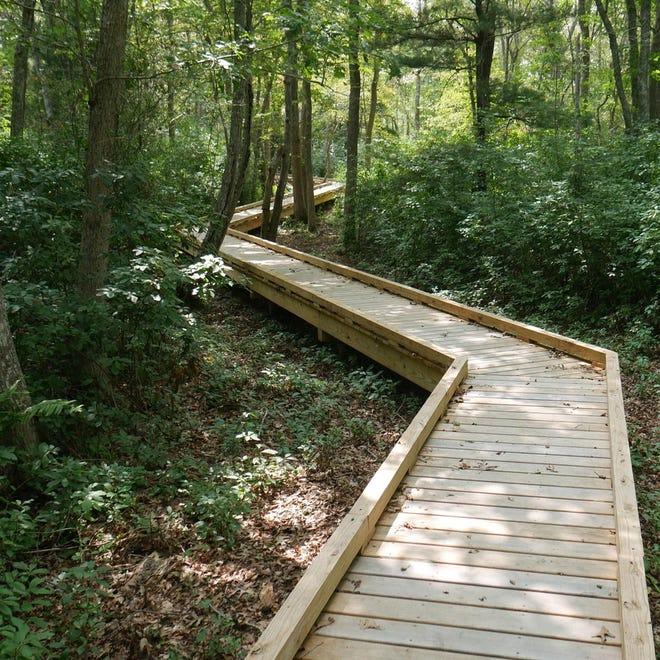 L'établissement A Sippican Lands Trust de Marian dispose d'une promenade de 1 800 pieds.