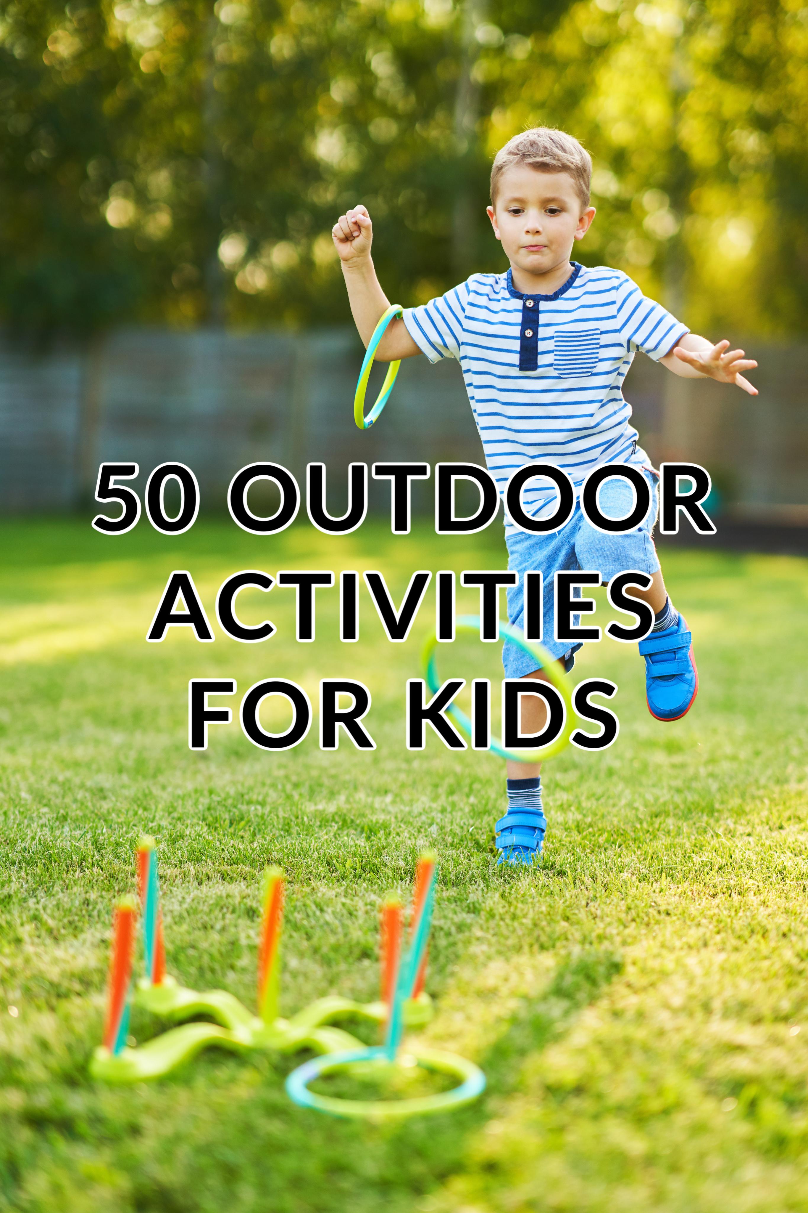 50 activités d'été en plein air pour les enfants
