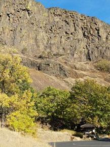 Couleurs d'automne à Coyote Wall